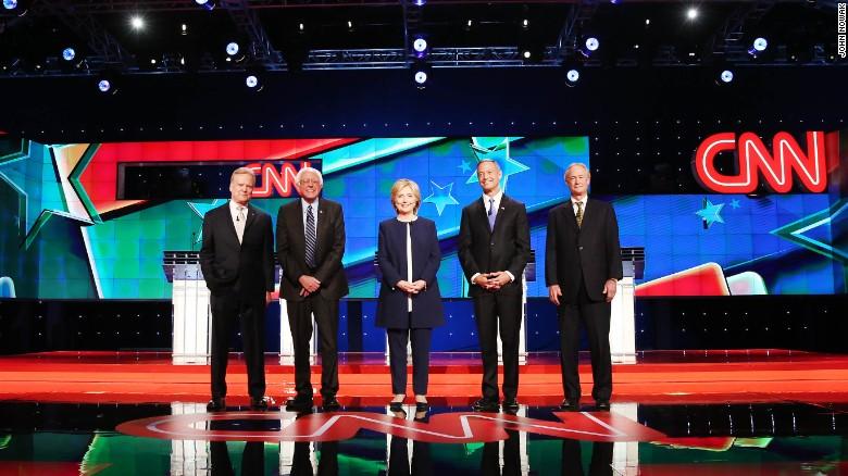 アメリカ大統領選挙 2016:民主党候補者