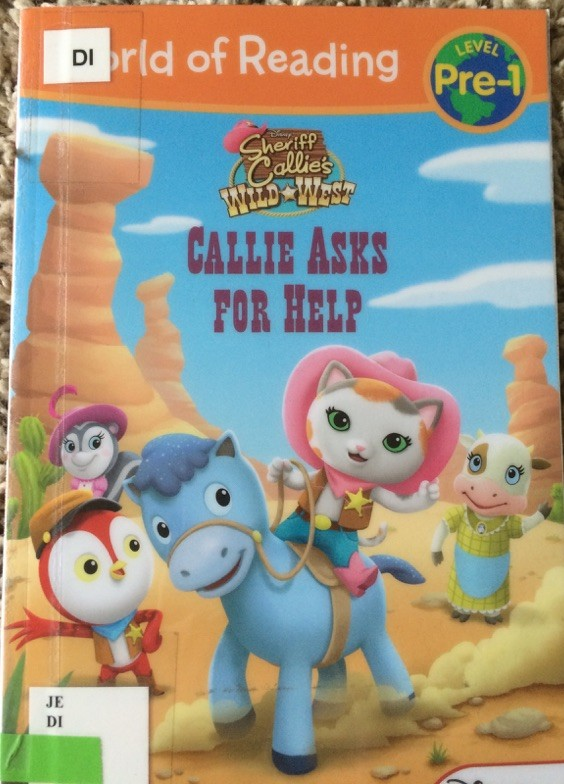 Callie Asks for help